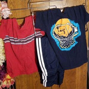 Other - 3pc Bundle, 2 s/s T-shirts & 1 Athletic pants